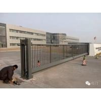China Industrial Motorized Automatic Cantilever Sliding Gates With Photocells wholesale