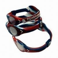 China Silicone Bracelets with Negative-ion Power, Health Jewelry, OEM Orders Welcomed wholesale