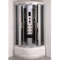 China Comtemporary Steam Room Shower Combo With Whirlpool Tub ABS Tray Material on sale