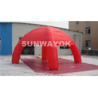 China Colored Dome 210D Nylon Inflatable Tent Adertising Tent With Four Legs wholesale
