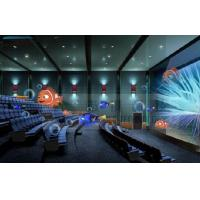 China 4D Cinema 4D Movie Theater With Electric System Motion Chair 1 Seat 2 Seats wholesale