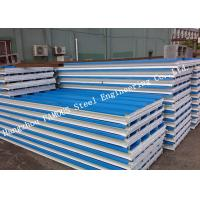 China Corrugated 950mm Lightweight Steel Sheet EPS Sandwich Panels for Warehouse Roof Panel wholesale