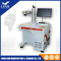 China Compact Structure Desktop Portable Laser Marking Machine For Carbon Steel Flange Ring wholesale