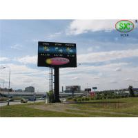 China Light Weight SMD Outdoor LED Billboard , 31.25mm Full Color LED Display For Studio wholesale
