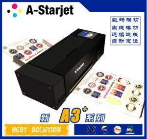 China Black A Starcut Digital Label Cutter Paper Sticker Cutter Machine wholesale
