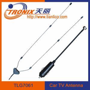 China interior windscreen mount tv car antenna/ 1 section mast car radio antenna TLG7061 wholesale