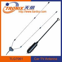 China interior windscreen mount tv car antenna/ 1 section mast car radio antenna TLG7061 on sale