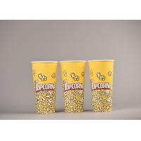 China Personalized Custom Printed Popcorn Buckets Food Grade For Cinema wholesale