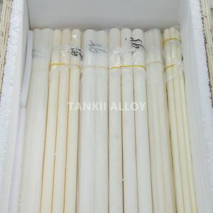 China White Colour Al2O3 Porous Alumina Tube Wear Resisting High Insulation wholesale