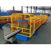China High Strength Gutter Cold Roll Forming Line Seamless Gutter Machine , Downspout Machine wholesale