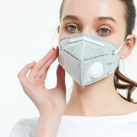 China Grey Color Disposable Earloop Face Mask 4 Layers Non Woven Fabric Material wholesale