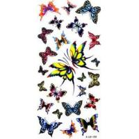 China Nontoxic Customized Temporary ink modern Body Art Tattoos with Fashion Design on sale