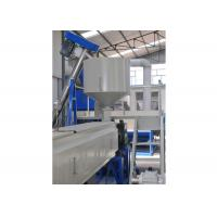 China Expanded Polystyrene Foam Sheet Extrusion Machinery , Twin - Screw Plastic Sheet Extruder wholesale