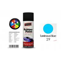Buy cheap 0.4L Peelable Automotive Paint Quick Drying With Luminous Blue Color from wholesalers