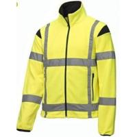 China 2 In 1 High Visibility Softshell Jacket , Outdoor Hi Vis Waterproof Coat on sale