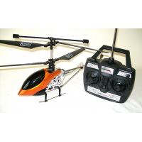 China Mini Orange 4 Channel I / R Infared Control RC Helicopter With 10 - 12m Control Range M-30 on sale