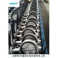 China Wafer Epdm Lined Butterfly Valves API 609 Cast Iron GG25 GGG40 GGG50 on sale