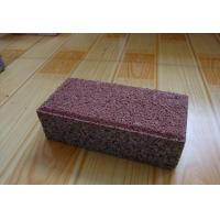 China Clay Material Permeable Driveways Products , Block Paving Edging Bricks wholesale