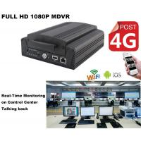 China Full HD1080P Car DVR 4Ch Hard Drive H.264 MDVR Real Time GPS Tracking On Android wholesale