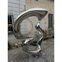 China Large Silver Yard Animal Statues , 1200 Mm Western Art Sculptures wholesale