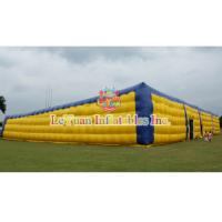 China Building Structure Airtight Tent / Large Inflatable Air Tent 54 M Long wholesale
