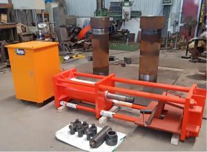 China Metal 25Mpa 300T Portable Line Boring Machine For Bulldozer wholesale