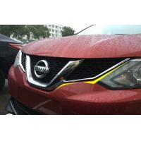 China NISSAN Auto Body Trim Parts , All New Qashqai 2015 2016 Front Grille Garnish on sale