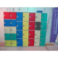 China Strong Plastic Gym Lockers 8 Comparts 1 Column Swimming Pool Lockers wholesale