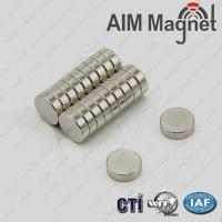 Quality neodymium magnet 10mm x 3mm n42 for sale