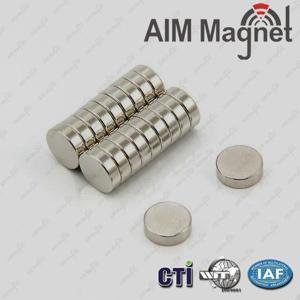 China neodymium magnet 10mm x 3mm n42 wholesale