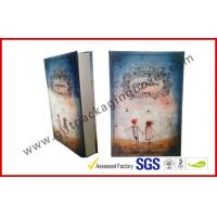 China Personalized Paper Gift Packaging Box, Uv Coating / Foil Stamping Book Shape Rigid Gift Boxes wholesale