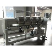 China Tubular 4 Head Embroidery Machine For Caps / Leather Products 400 X 450 Mm  wholesale