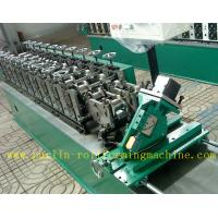 China Hollow Runner Metal Stud And Track Roll Forming Machine for T Guide Track Panasonic PLC Control Atos Valve wholesale