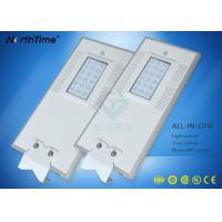 China 18 W Energy Saving Refinement All In One Solar Street Light / Solar Powered Road Lights wholesale