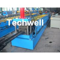 China Single Side Adjustable C Purlin Roll Form Machines With Manual / Hydraulic Decoiler wholesale