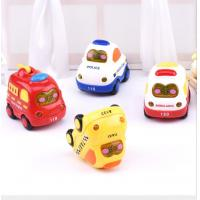 China Hot sale Hands Pushing tuck inertia toy car inertia toy  helicopter crane Inertia Police Vehicle fire engine for kid wholesale