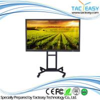 China LED IR Touch Screen Interactive Whiteboard , All In One Interactive Touch Screen Tv wholesale