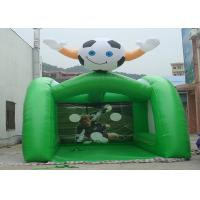 China Fire Resistant Outdoor Inflatable Kids Games Inflatable Football Goal wholesale