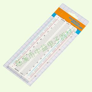 China Self Adhesive ABS Electronics Breadboard Kit One Terminal Strip wholesale