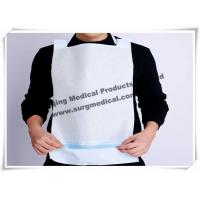 China Clinics / Salons Waterproof Dental Patient Bibs With Ties , Dental Disposable Products wholesale