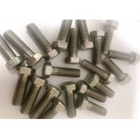 China DIN933 DIN931 Nickel Alloy Fasteners Full Partial Thread Hex Bolt Monel K500 wholesale