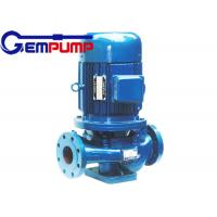 China IHG vertical pipe Inline Water Booster Pump , stainless steel centrifugal water pump wholesale
