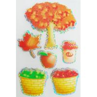 Offset Printed Custom Holographic Stickers For Girls autumn season design