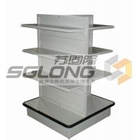 China Four Way Supermarket Display Shelves Convenience Store Racks Q195 Material wholesale