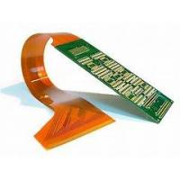 China Multilayer Aluminium Rigid Flex PCB Gold plated Surface Finish Silver Printing on sale