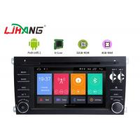 Buy cheap Android 8.1 Porsche Cayenne Android Touch Screen Car Radio Free Map Card from wholesalers