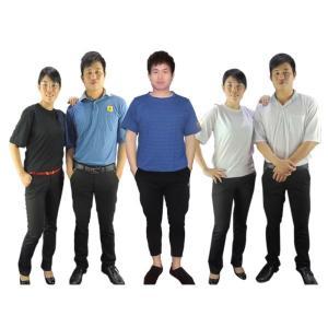 China Blue Black 150g 96% Cotton 4% Conductive Fiber ESD T Shirts wholesale