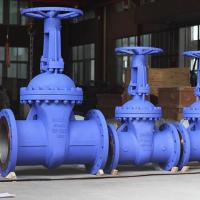 China Carbon Steel Bellows Seal Gate Valve Full Port Flanged Gate Valve PN40 wholesale