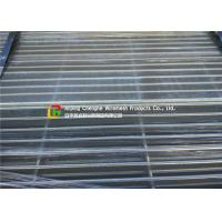 China Walkway Hot Dipped Galvanized Steel Grating Light Structure Heat Dissipation wholesale