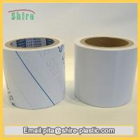 China Stainless Steel Laser Masking Film , Temporary Transparent PVC Lamination Film wholesale